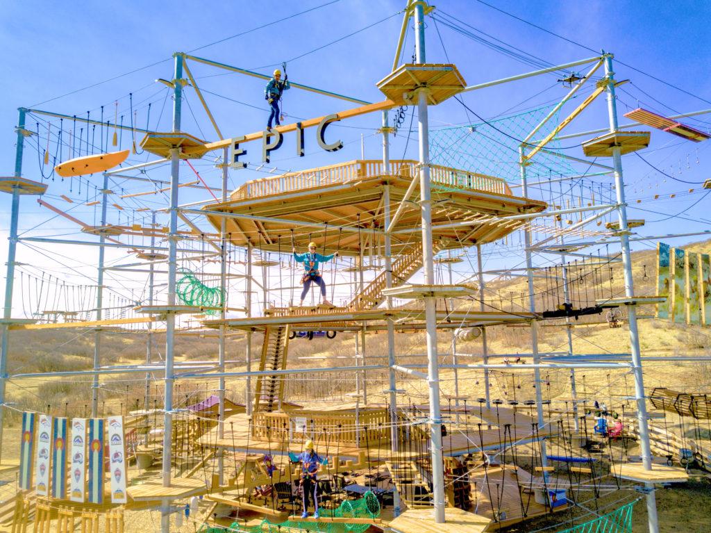 sky trek structure